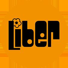 Liber logo cirkel oranje transparant AKvV 225px